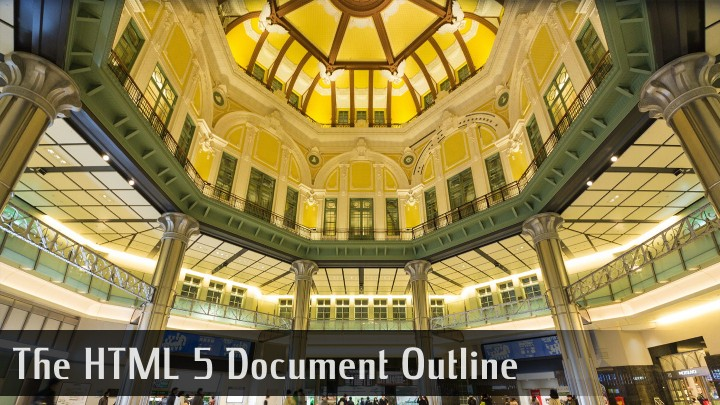 SEO Best Practice of the HTML5 Document Outline