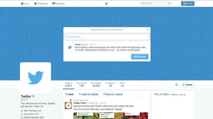 Retweet with Comment via Twitter REST API using PHP TwitterOAuth